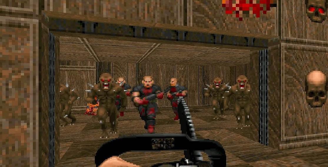 Boot up your copies of the Doom retro re-releases for some free Doom Zero DLC screenshot