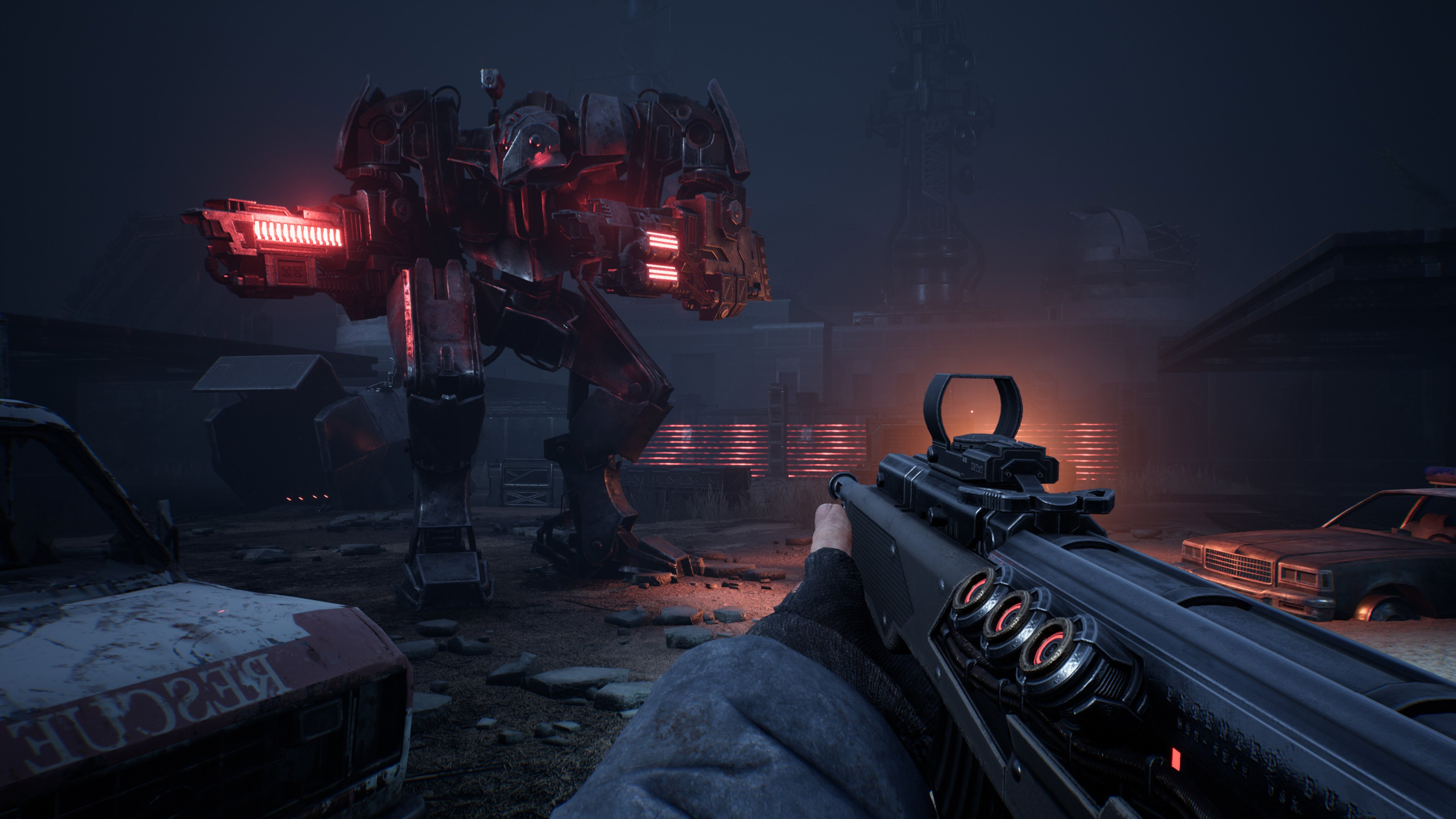 I didn't expect Terminator: Resistance to get a PS5 enhanced edition screenshot