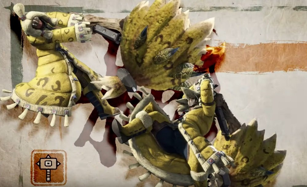 Monster Hunter Rise brings the hammer down with latest weapons trailers screenshot