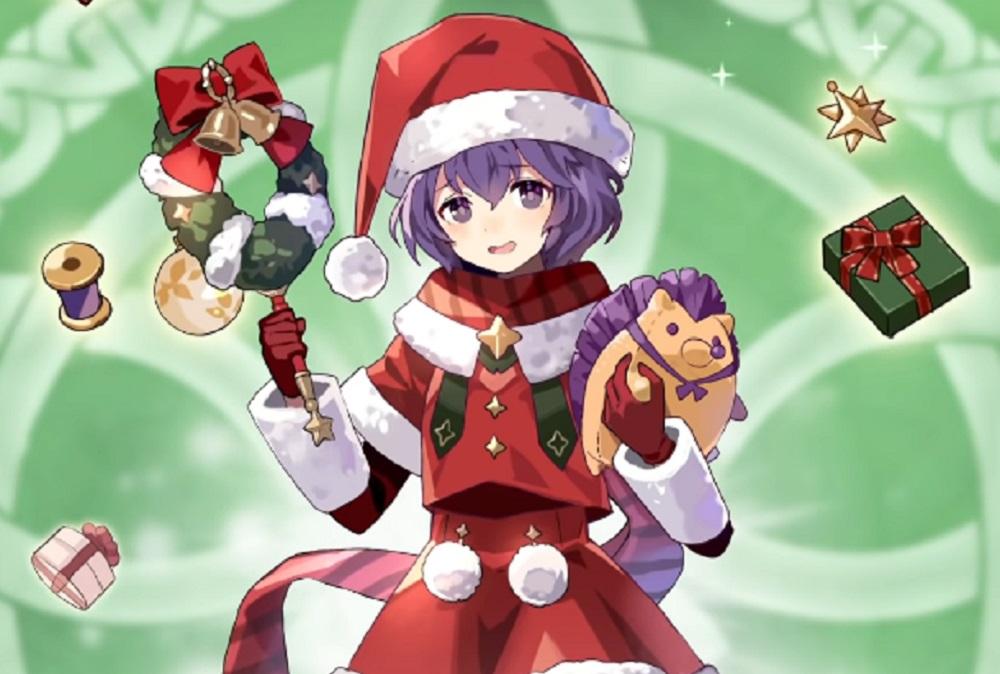 All I want for Christmas is Fire Emblem Heroes' Santa Bernadetta screenshot