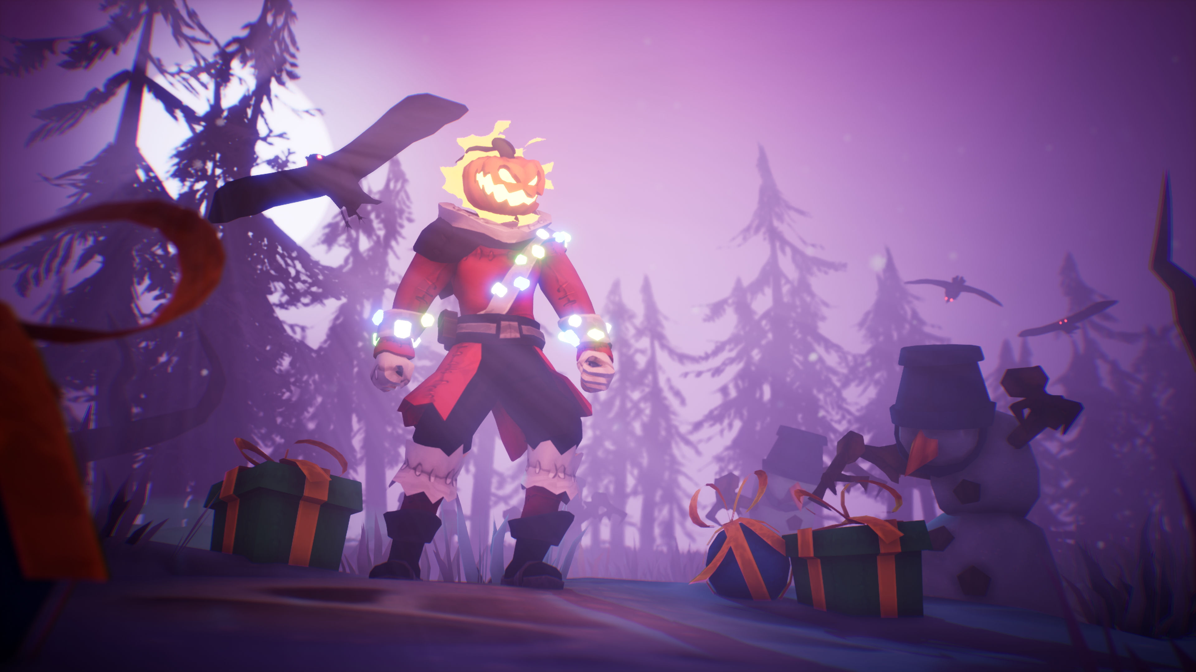Pumpkin Jack gets a Christmas update because there are no rules anymore screenshot