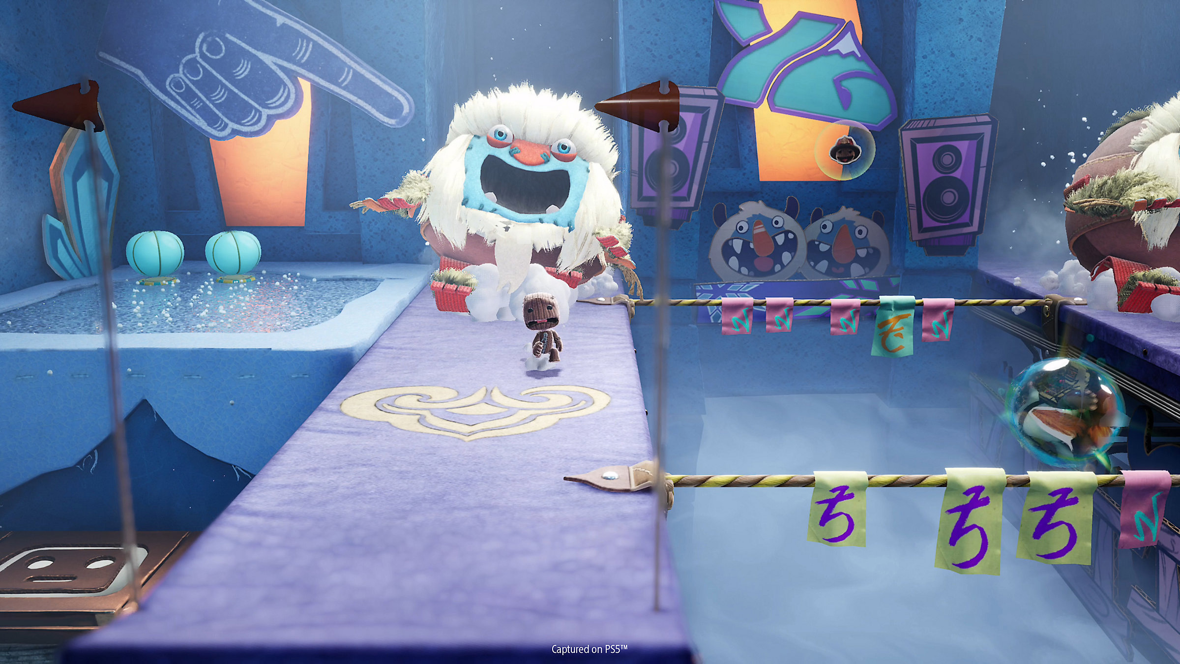 Sackboy: A Big Adventure now has online co-op and a PS4-to-PS5 save transfer screenshot