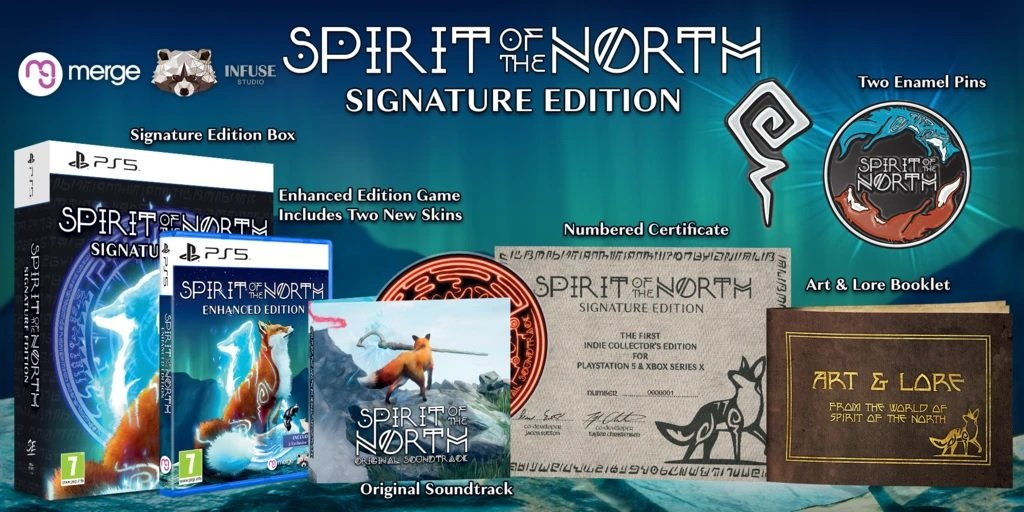 Spirit of the North Enhanced Edition Signature Edition contest win PS5