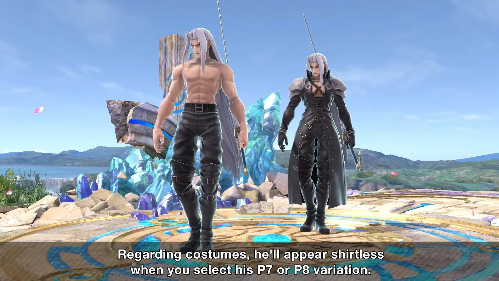 Sephiroth is officially out on December 22, but you can unlock him early in Smash Ultimate screenshot