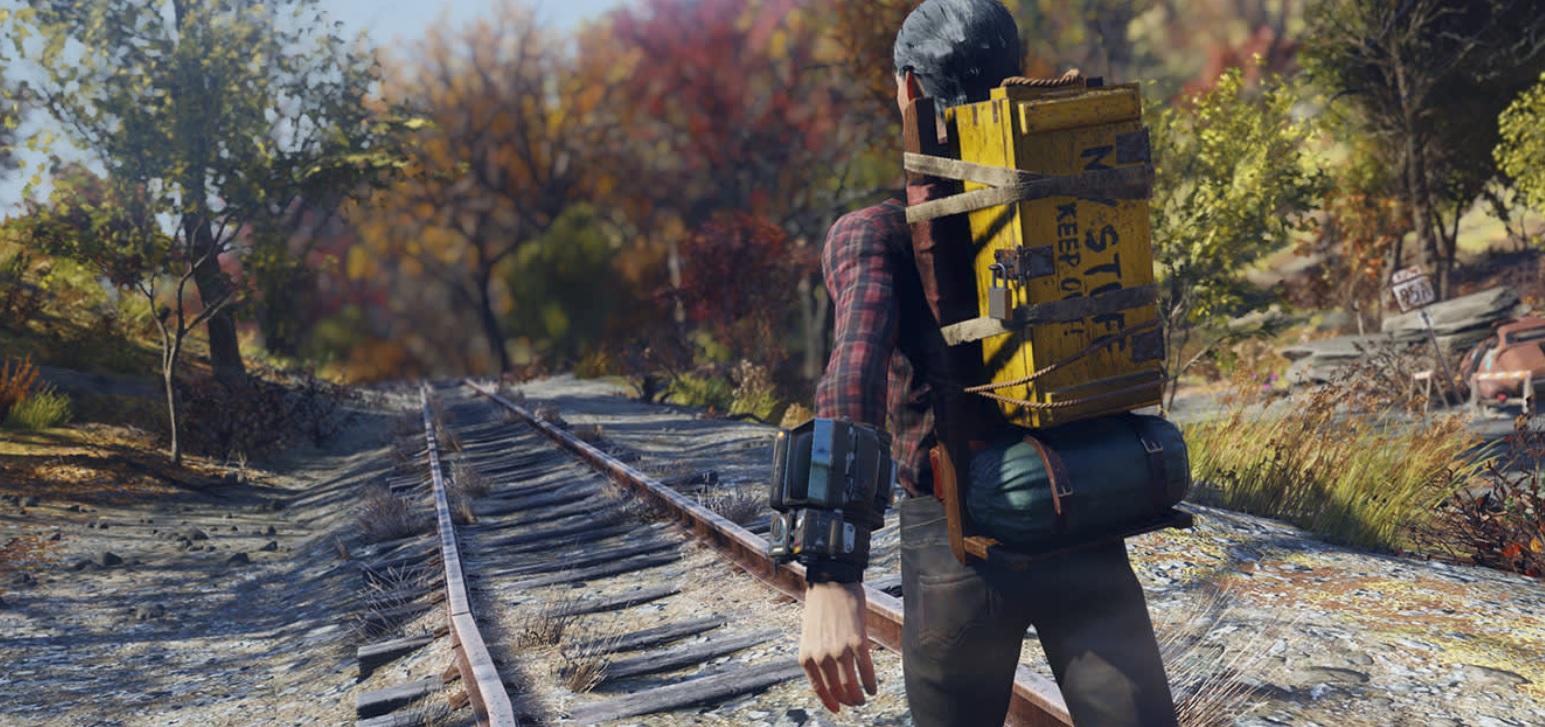 Bethesda recalls all its 2020 Fallout 76 accomplishments and improvements screenshot