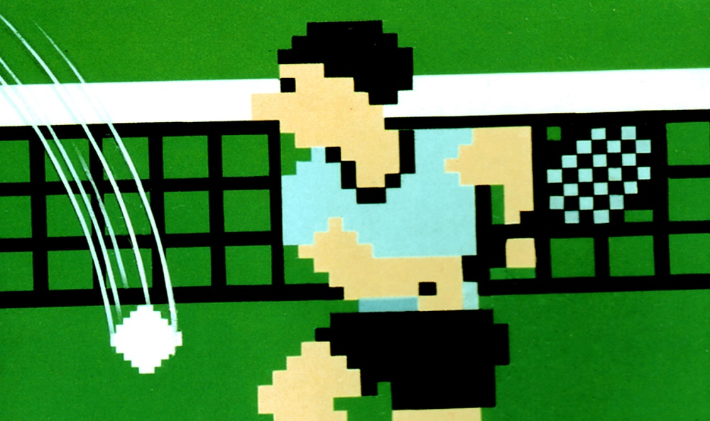NES launch title Tennis is this week's Arcade Archives release screenshot