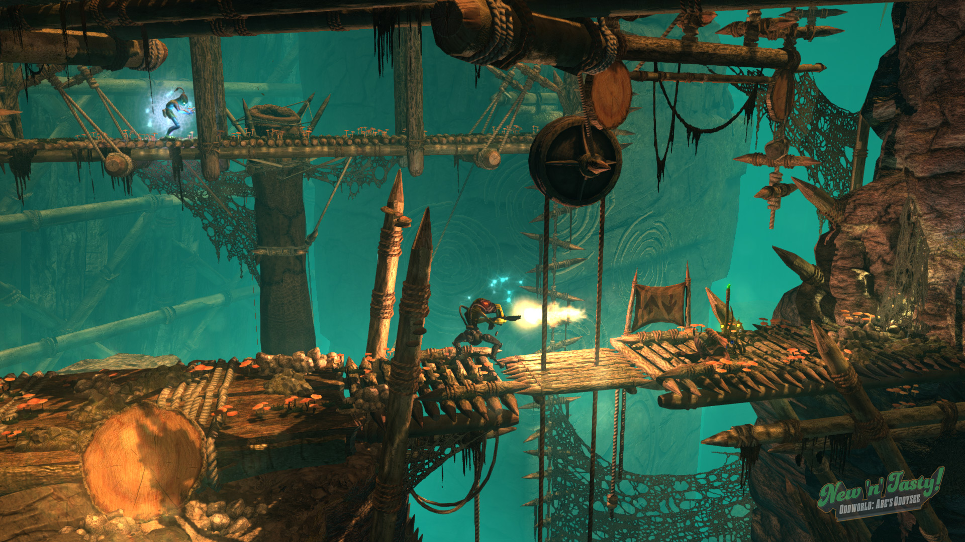 Today's free Epic game is Oddworld: New 'n' Tasty screenshot