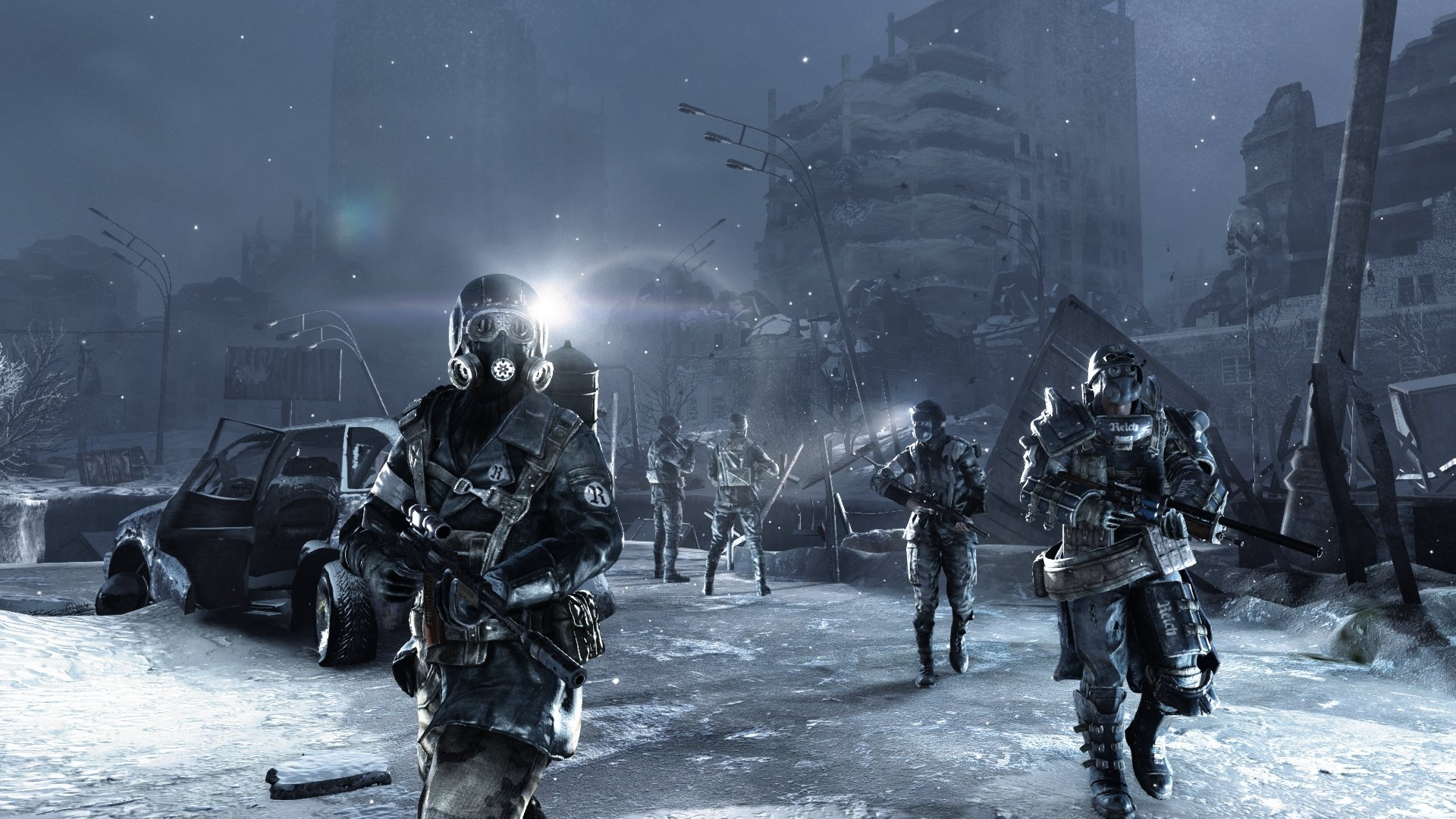 Add some bleak, depressing hostility to your life with a free copy of Metro 2033 from Epic screenshot