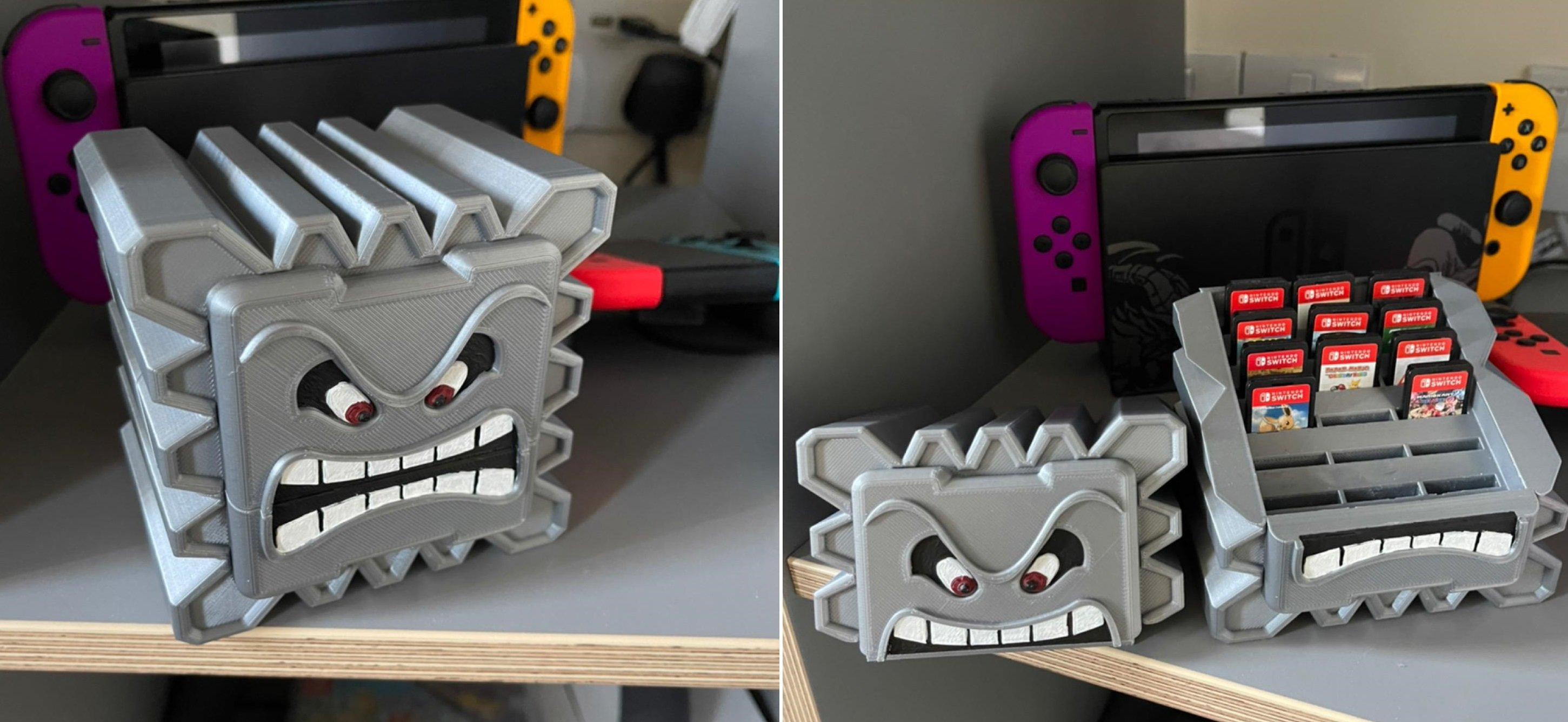 This 3D-printed Switch cartridge holder is the stuff of dreams screenshot