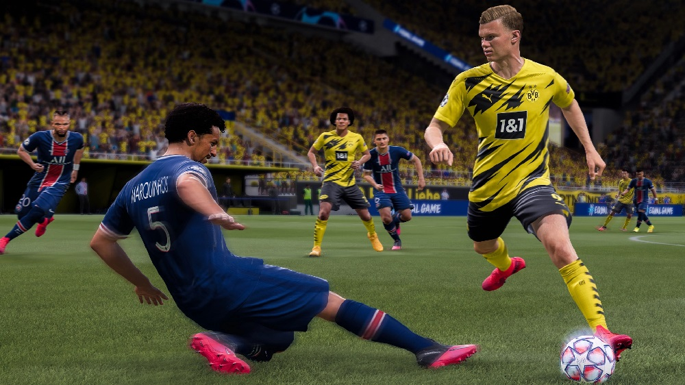 FIFA 21 ends 2020 in the premier position of the UK Charts screenshot