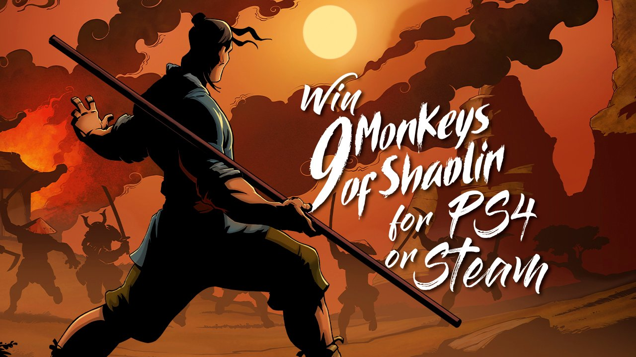 Contest: Win 9 Monkeys of Shaolin for PS4 or Steam screenshot