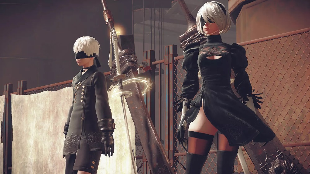 NieR's Yoko Taro and Yosuke Saito are currently working on two new titles screenshot
