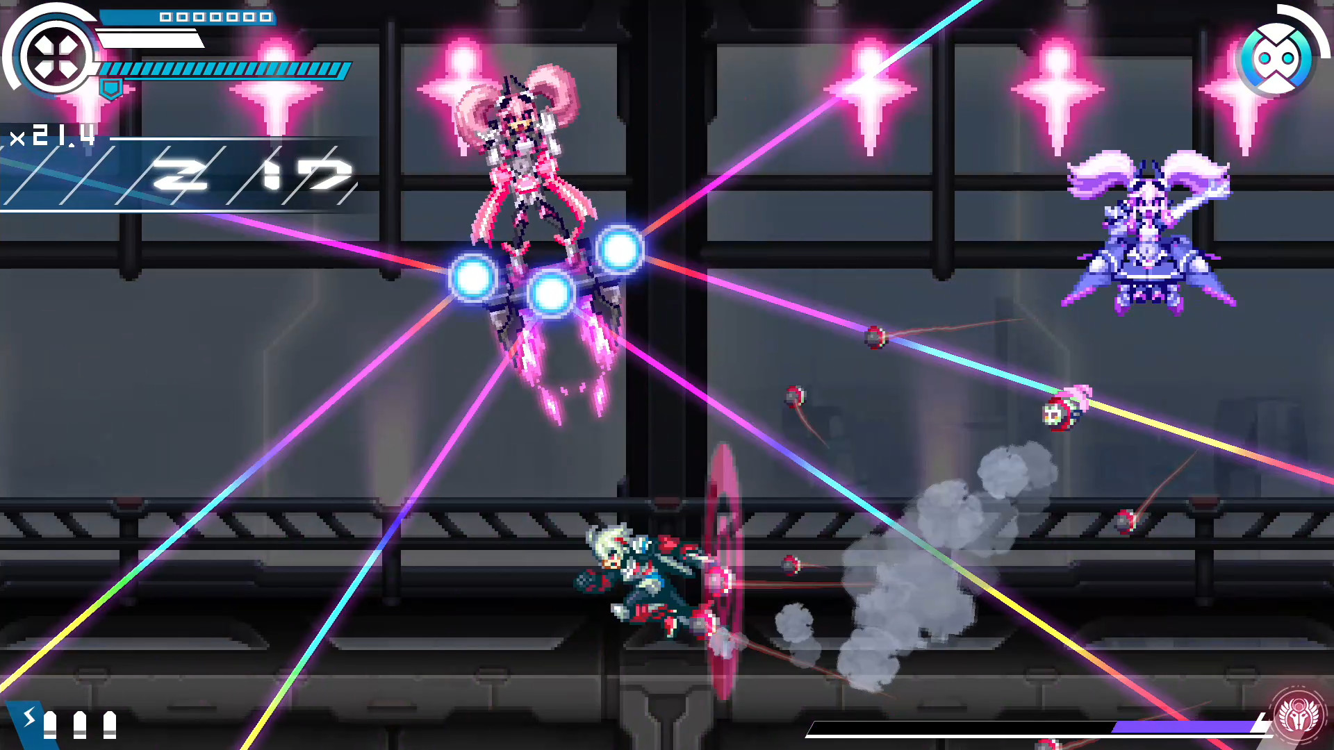 Inti Creates, the studio behind Gunvolt and the Bloodstained spinoffs, says it has three new titles in development screenshot