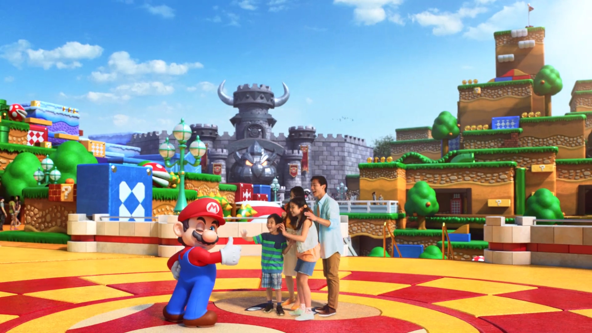 New video footage gives us an idea of what the elusive Yoshi ride is at Super Nintendo World screenshot