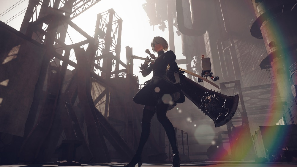NieR: Automata gives up one final secret years after release screenshot