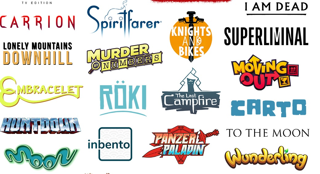 Nintendo reveals a gigantic infographic of most of the Switch indies released in 2020 screenshot