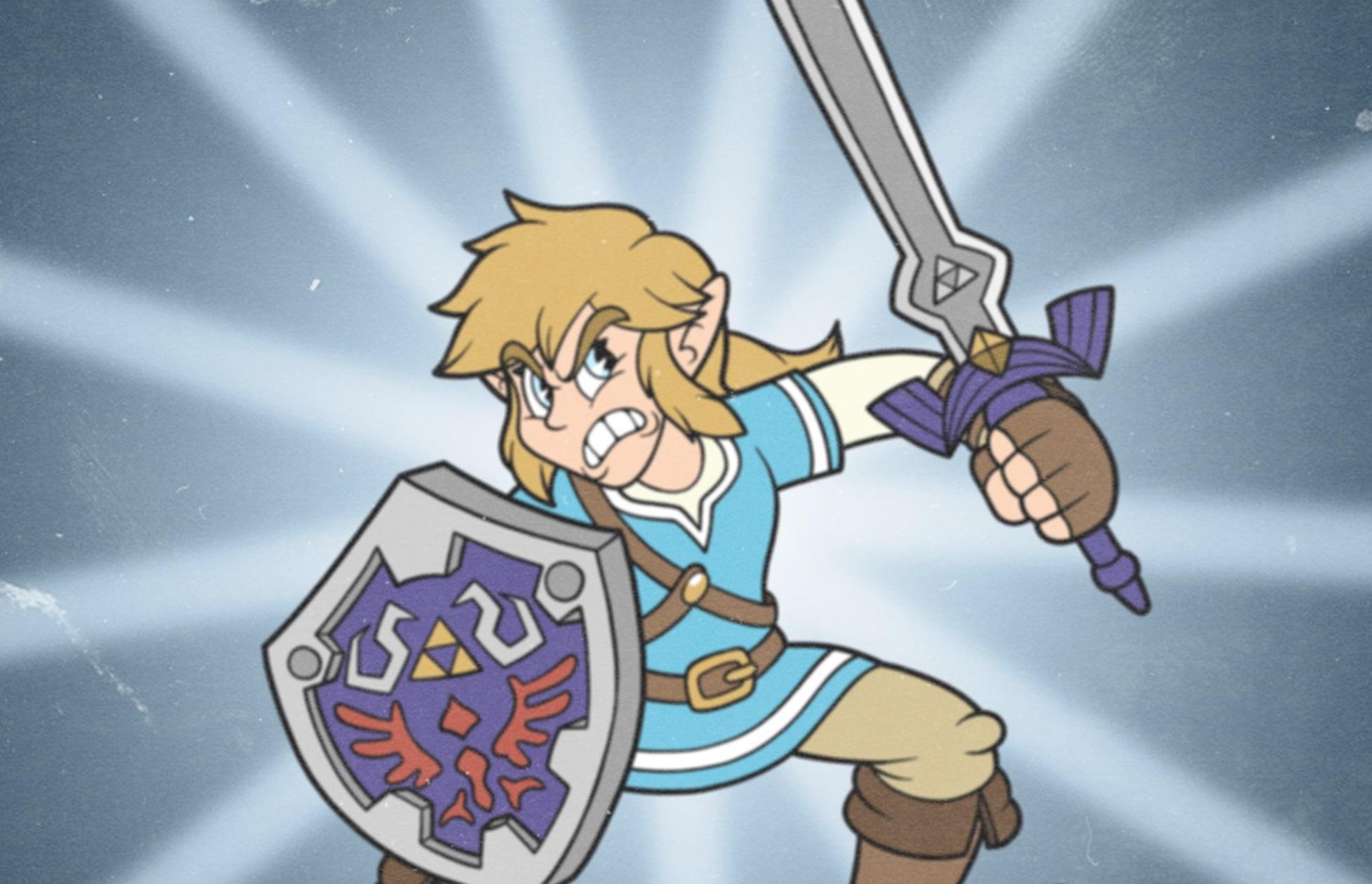 This Cuphead Smash Bros. art from Daniel Cortes is fantastic screenshot