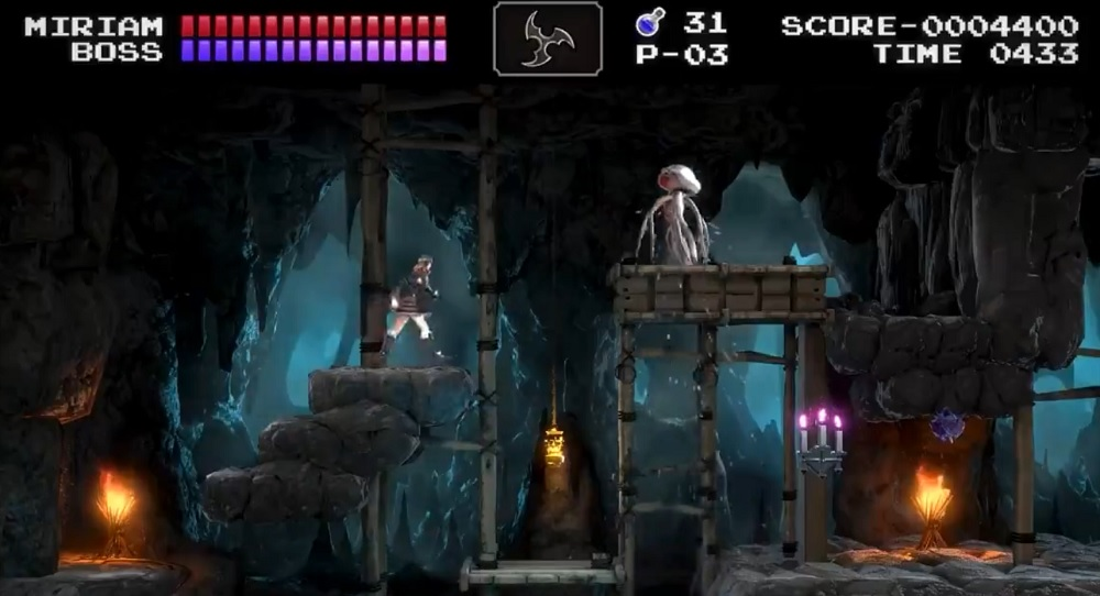 Bloodstained: Ritual of the Night's Classic Mode brings retro Castlevania action January 14 screenshot