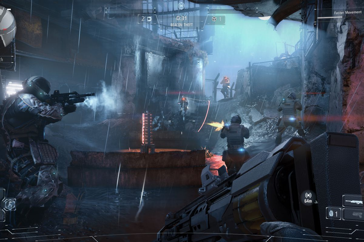 Killzone's future might be bleak, as Sony has killed the series' website screenshot