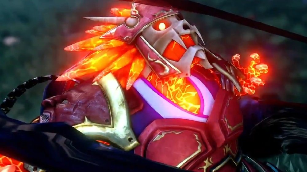 Garuda is the latest Fighting EX Layer star to get a tribute costume in Street Fighter V screenshot