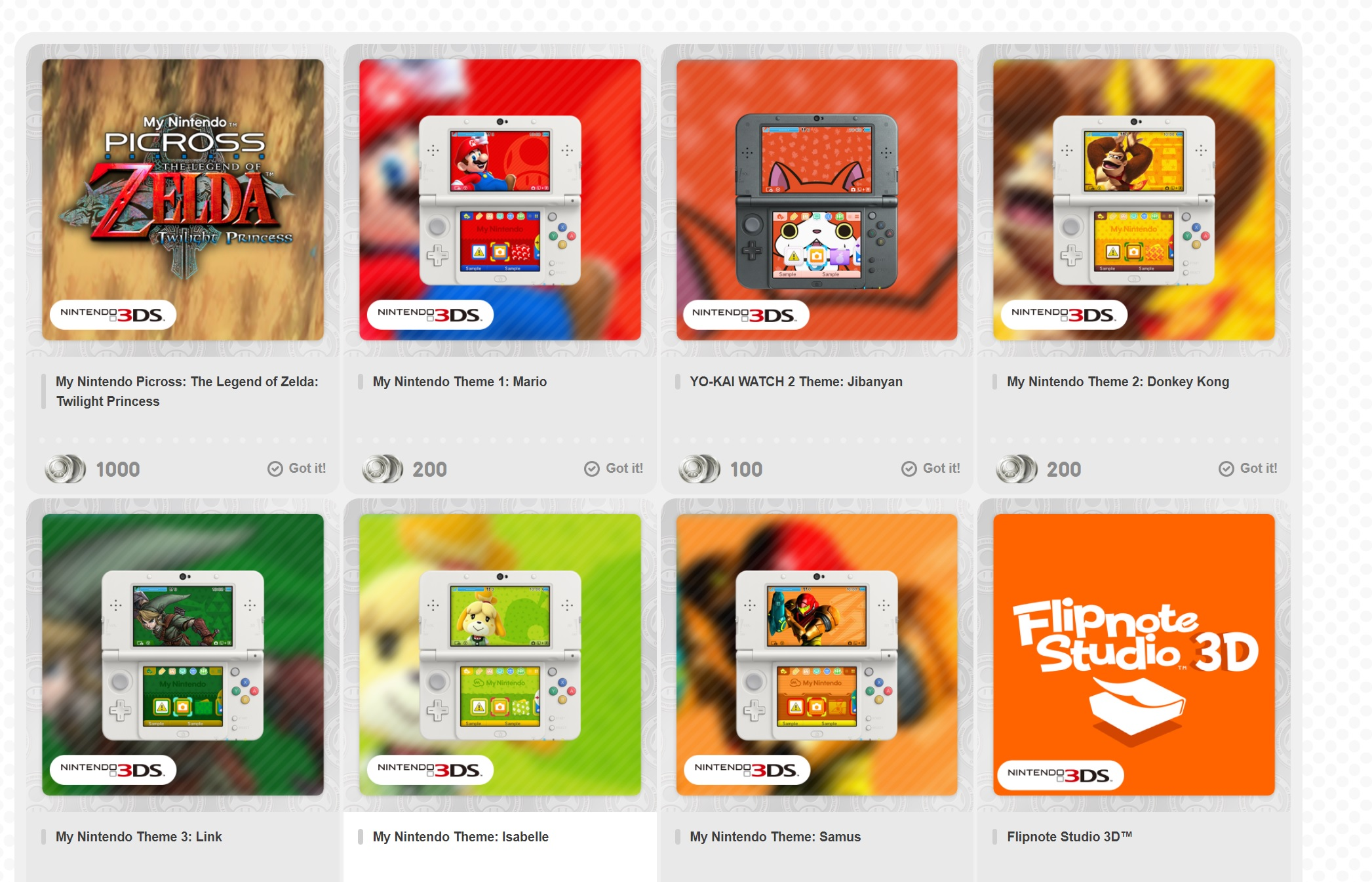 My Nintendo just dumped 3DS/Wii U discounts, so hopefully Switch perks are on the way screenshot