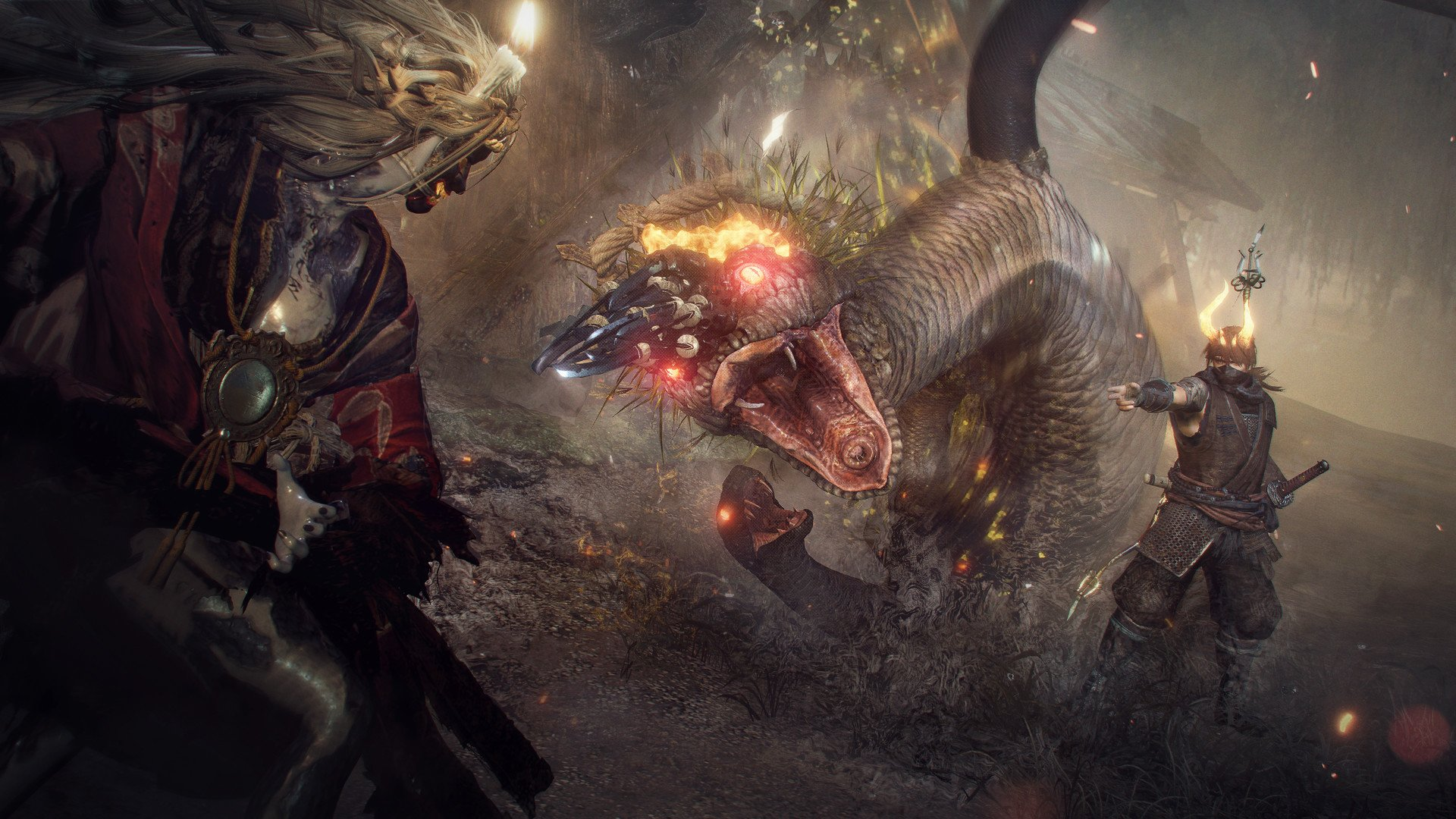 What was the toughest part of the Nioh remaster process? '120 FPS,' says Team Ninja screenshot