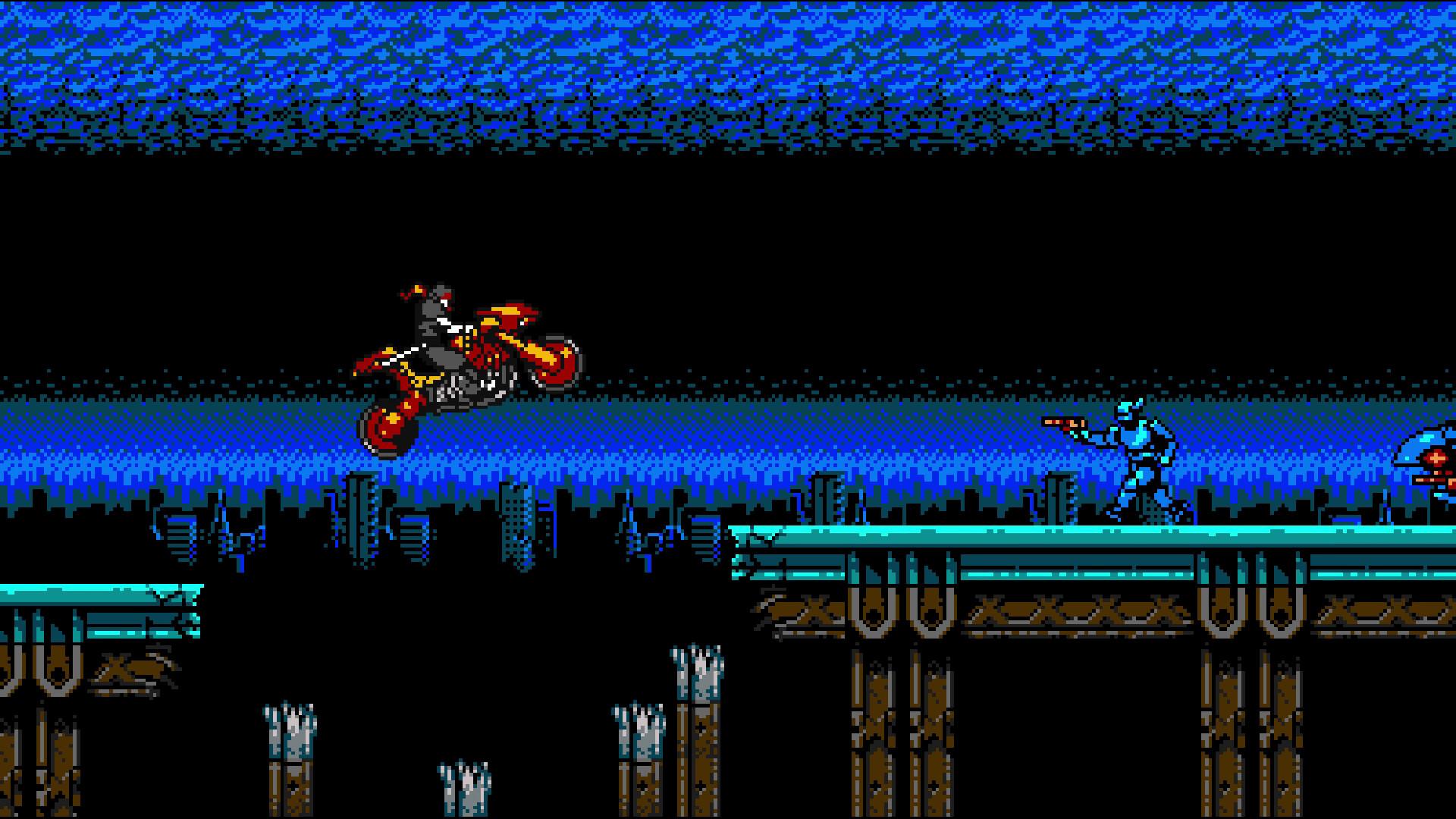 Review: Cyber Shadow screenshot