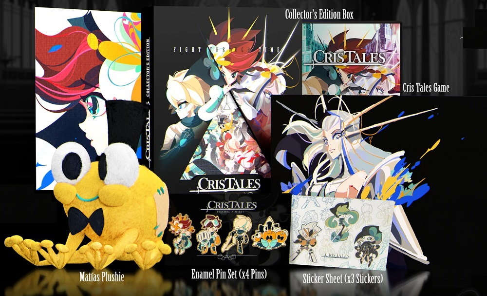Cris Tales collector's edition includes art book and cuddly Matias screenshot