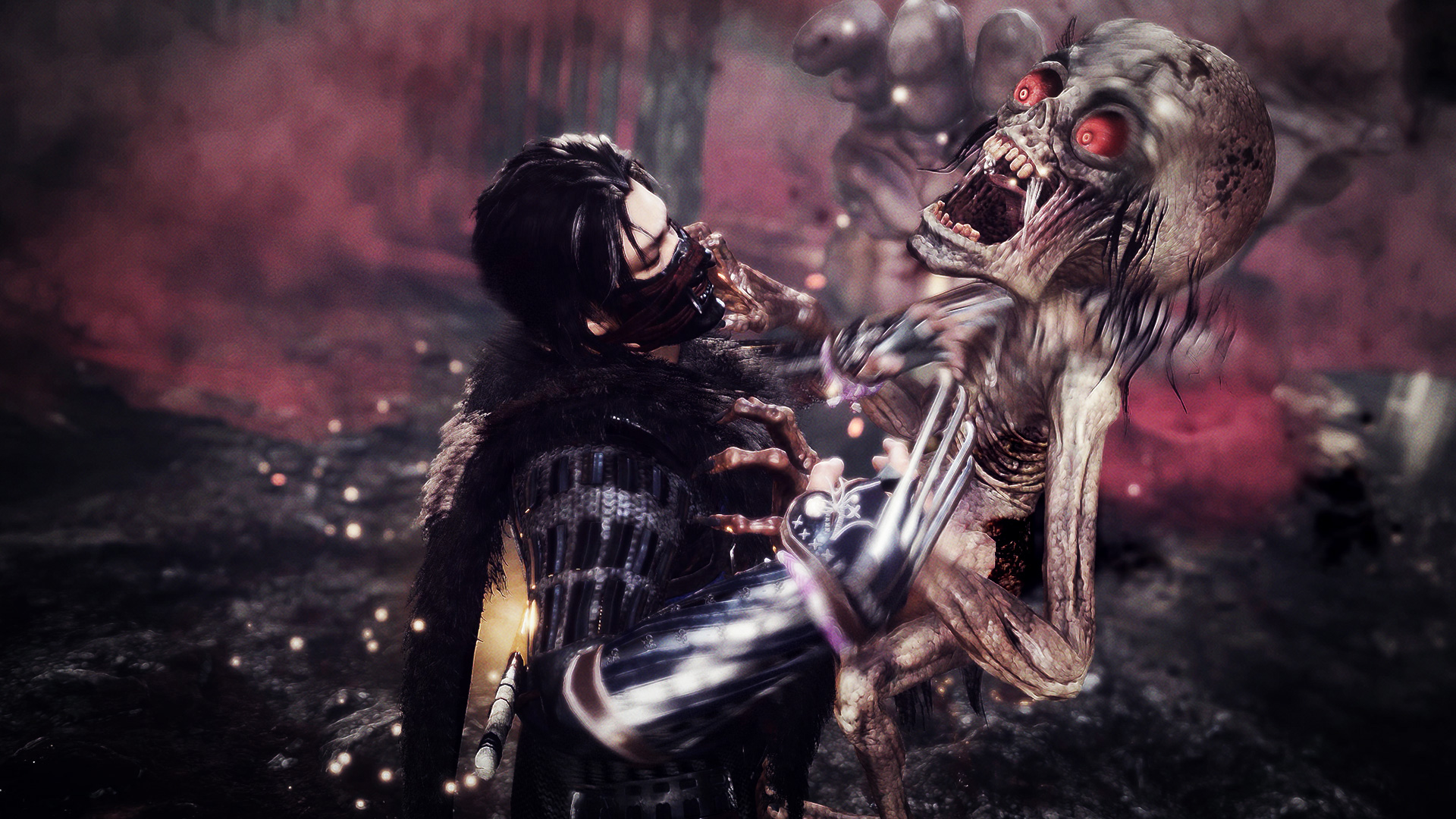Team Ninja is moving on from Nioh, but Yasuda likes the idea of an open world game with 'a lot of intensity' screenshot