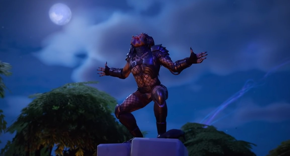 Even The Predator is in Fortnite now, here's how to unlock him screenshot