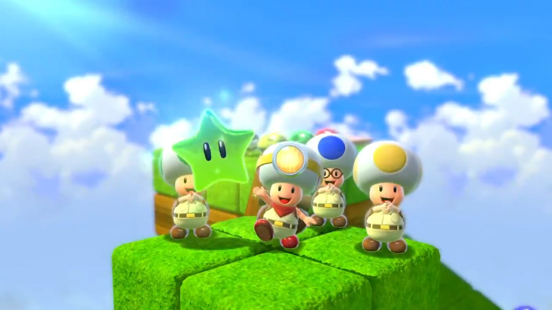 The Captain Toad levels got a co-op boost for Super Mario 3D World + Bowser's Fury screenshot
