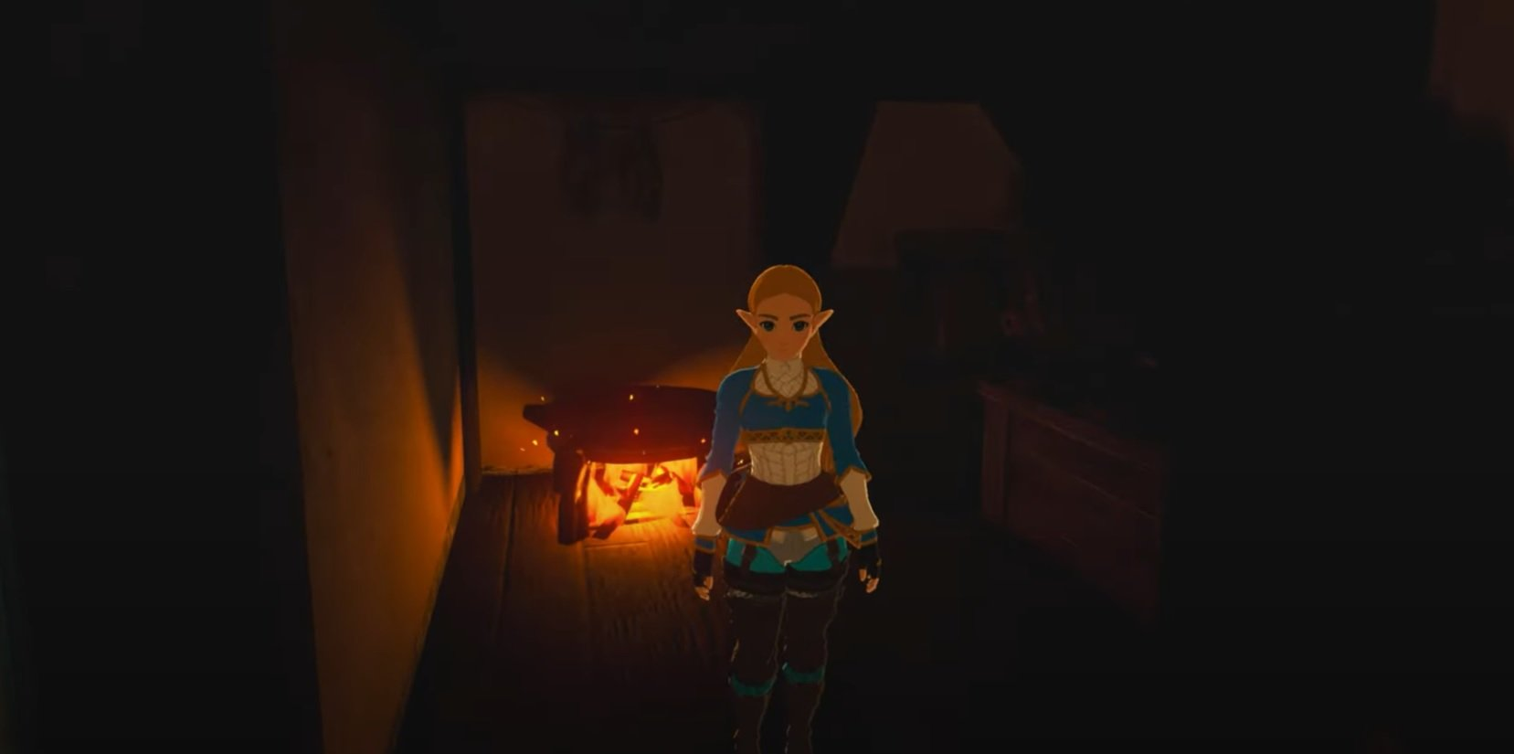 This Zelda: Breath of the Wild mod tricks out Link's house screenshot