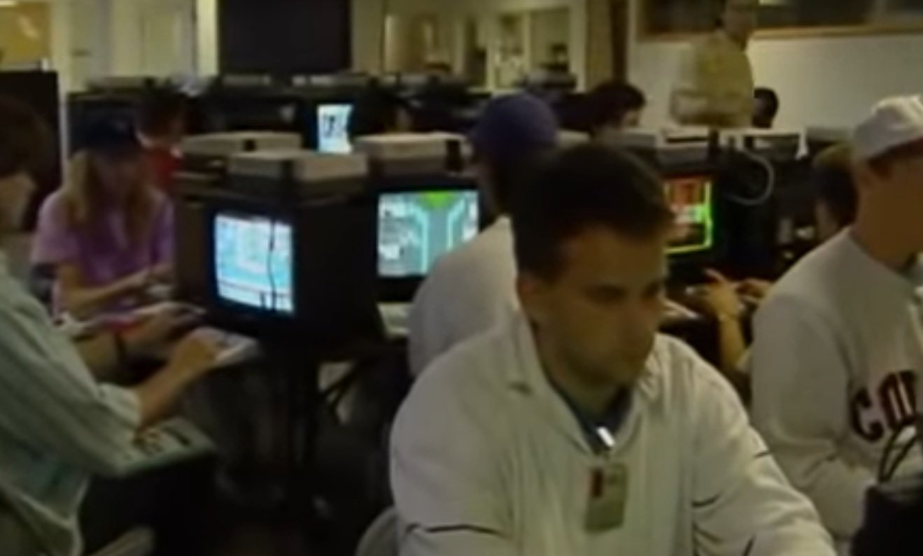 Is your uncle in this old Nintendo of America HQ video?
