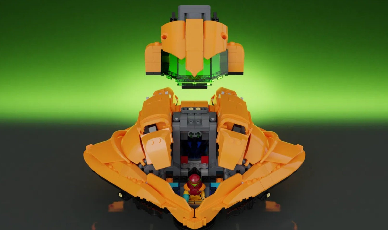 This elaborate Metroid LEGO set could become a reality screenshot