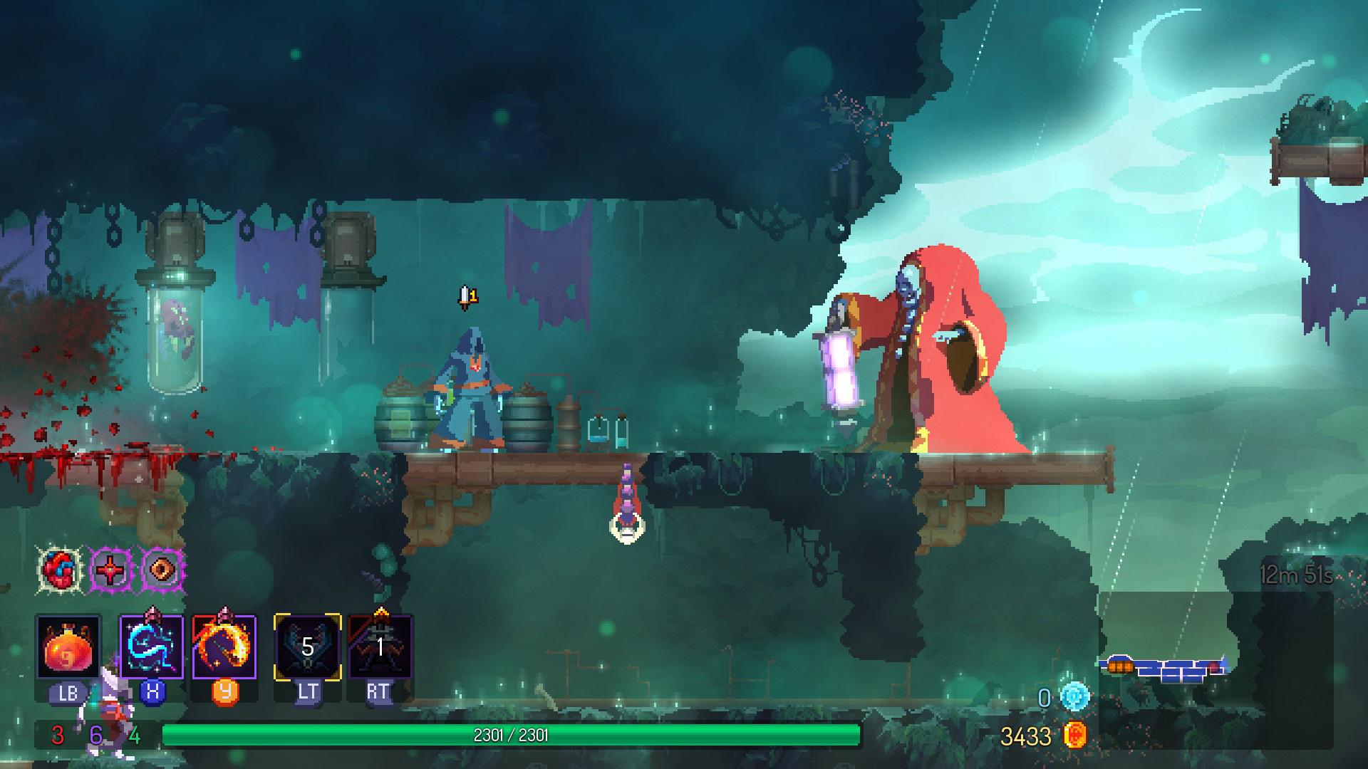 Review: Dead Cells: Fatal Falls screenshot