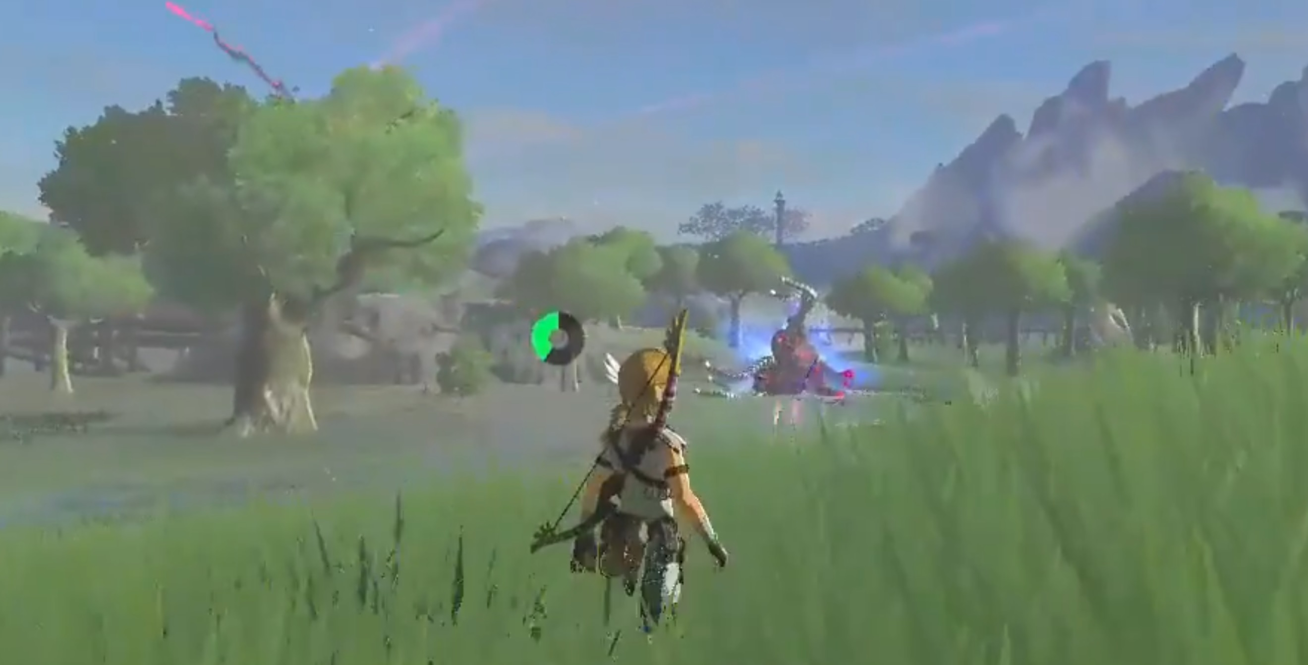 The Zelda: Breath of the Wild trick shot master is back to teach another class screenshot