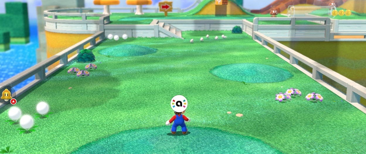 Here's what amiibo do in Mario 3D World + Bowser's Fury screenshot