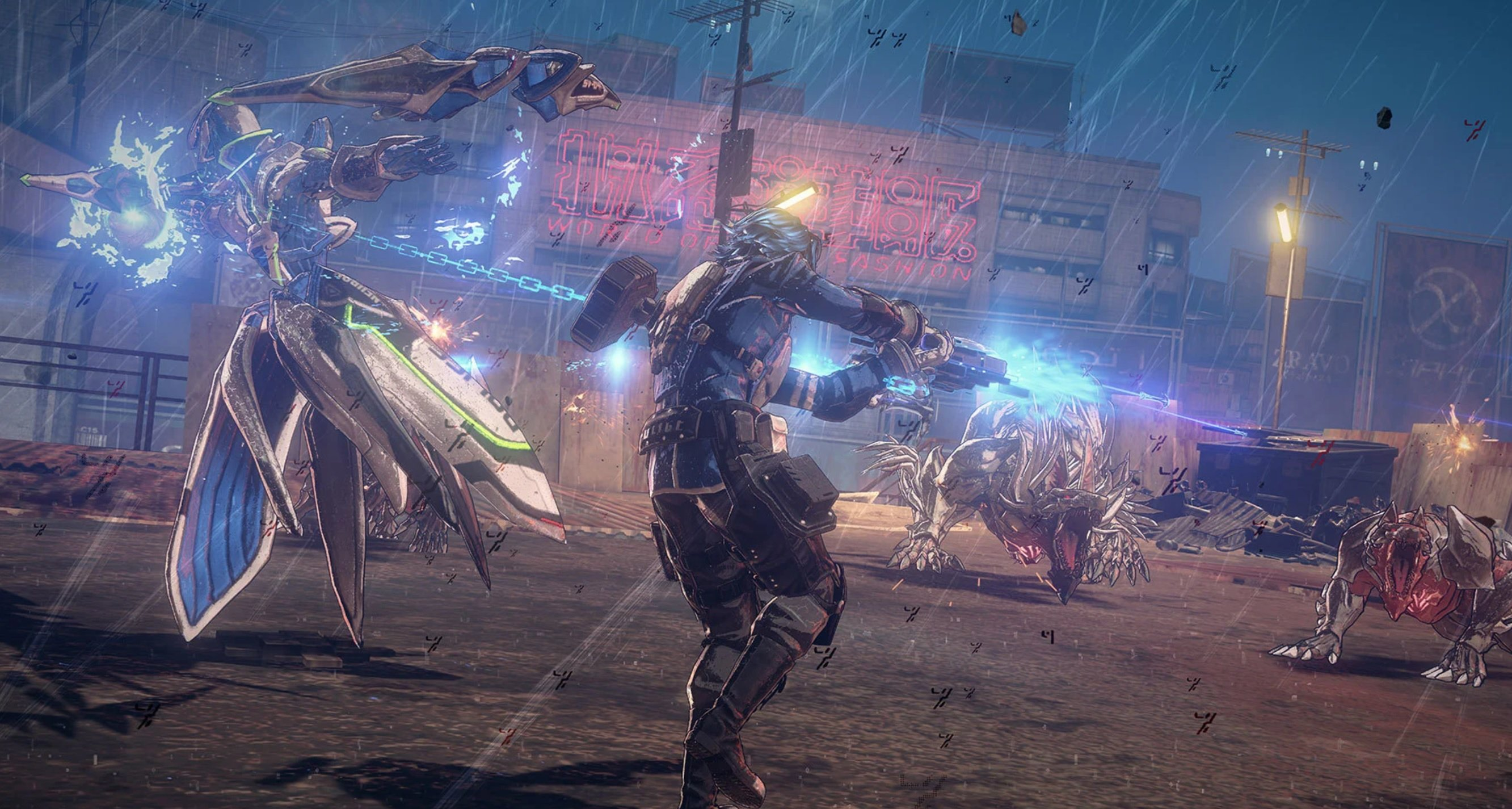 Who owns the Astral Chain IP? Nintendo, says Platinum screenshot