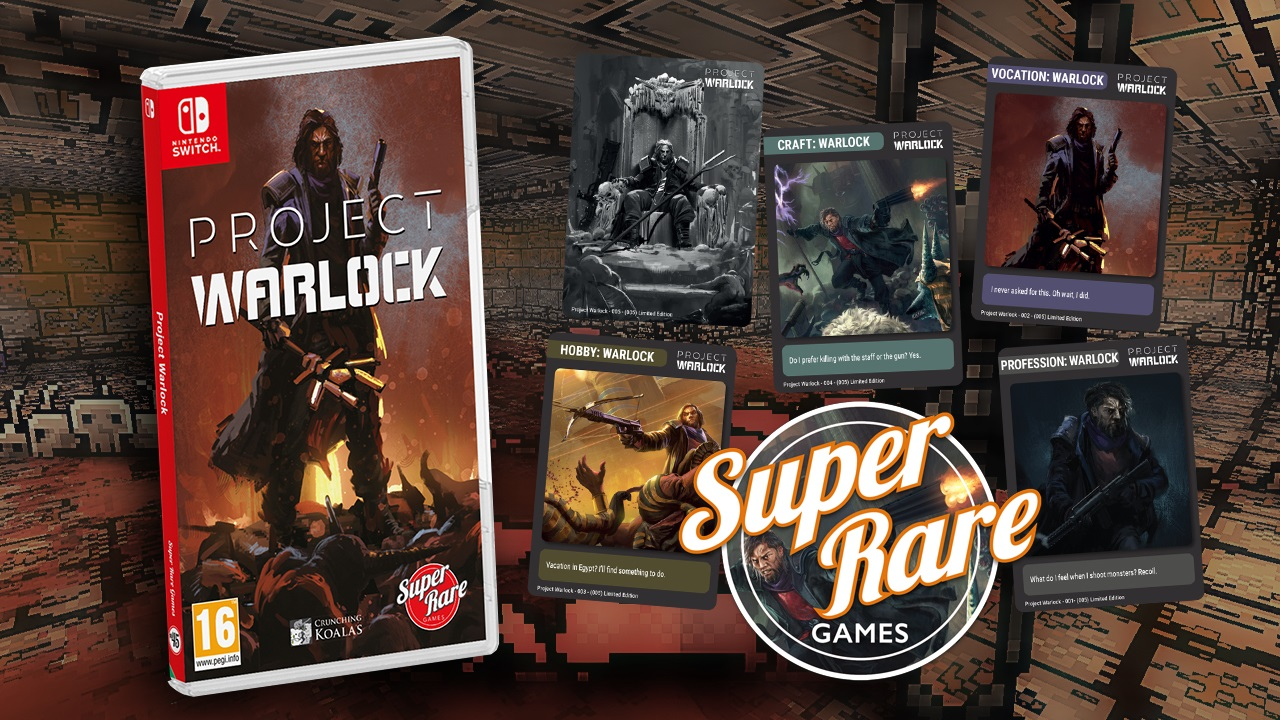 Contest: Win the SOLD OUT Project Warlock on Switch from Super Rare Games screenshot