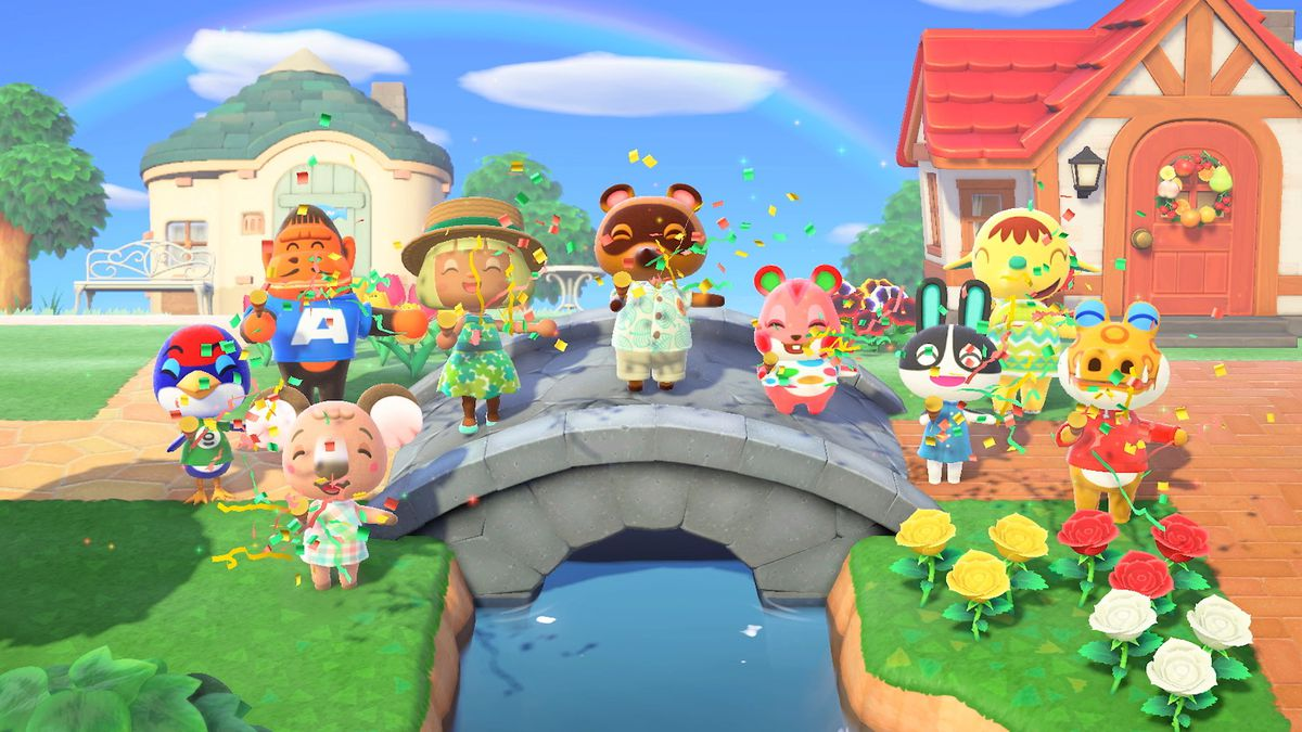 Animal Crossing: New Horizons is starting to edge out Mario Kart 8 Deluxe as the best-selling Switch game of all time screenshot