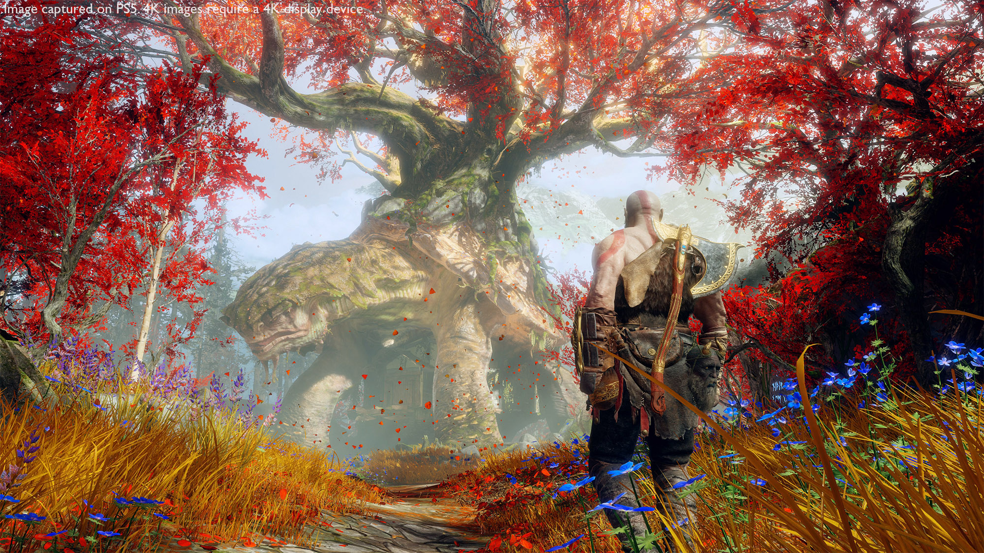 God of War has a free 'Enhanced Performance' boost for PS5 players screenshot