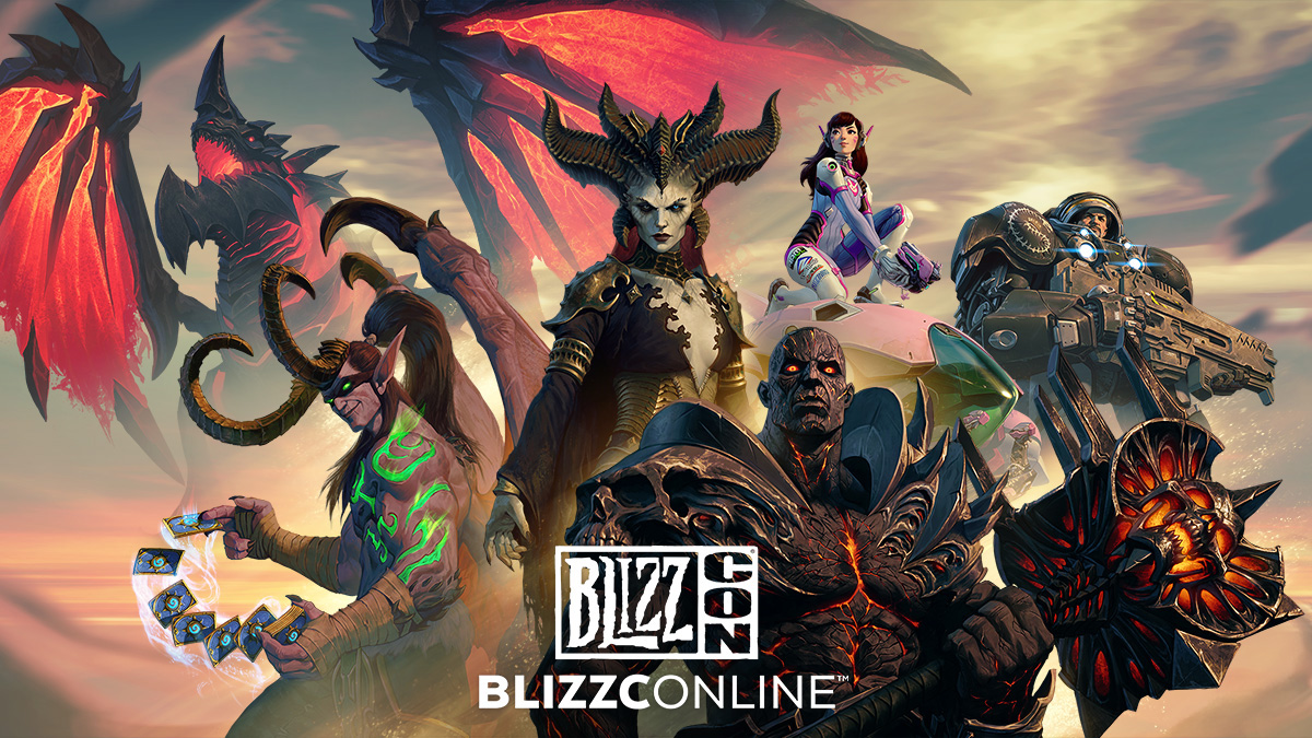 BlizzConline begins February 19 and here's the schedule screenshot