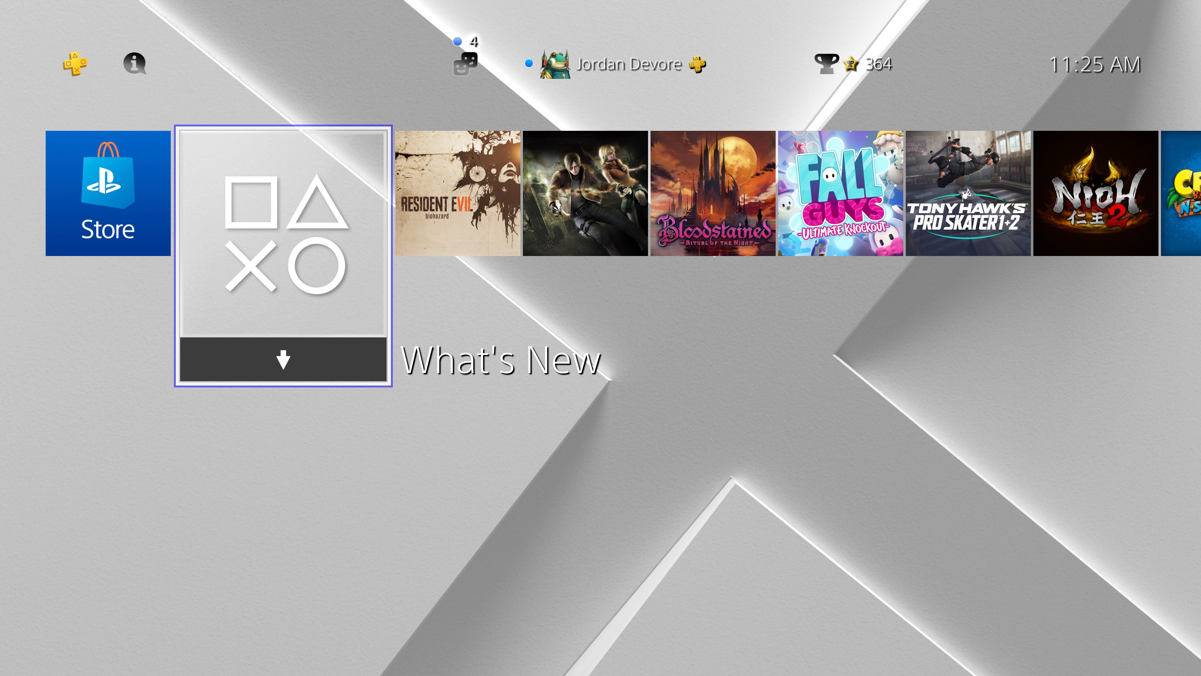 You can get a free PS4 theme while you check your 2020 PlayStation Wrap-Up screenshot