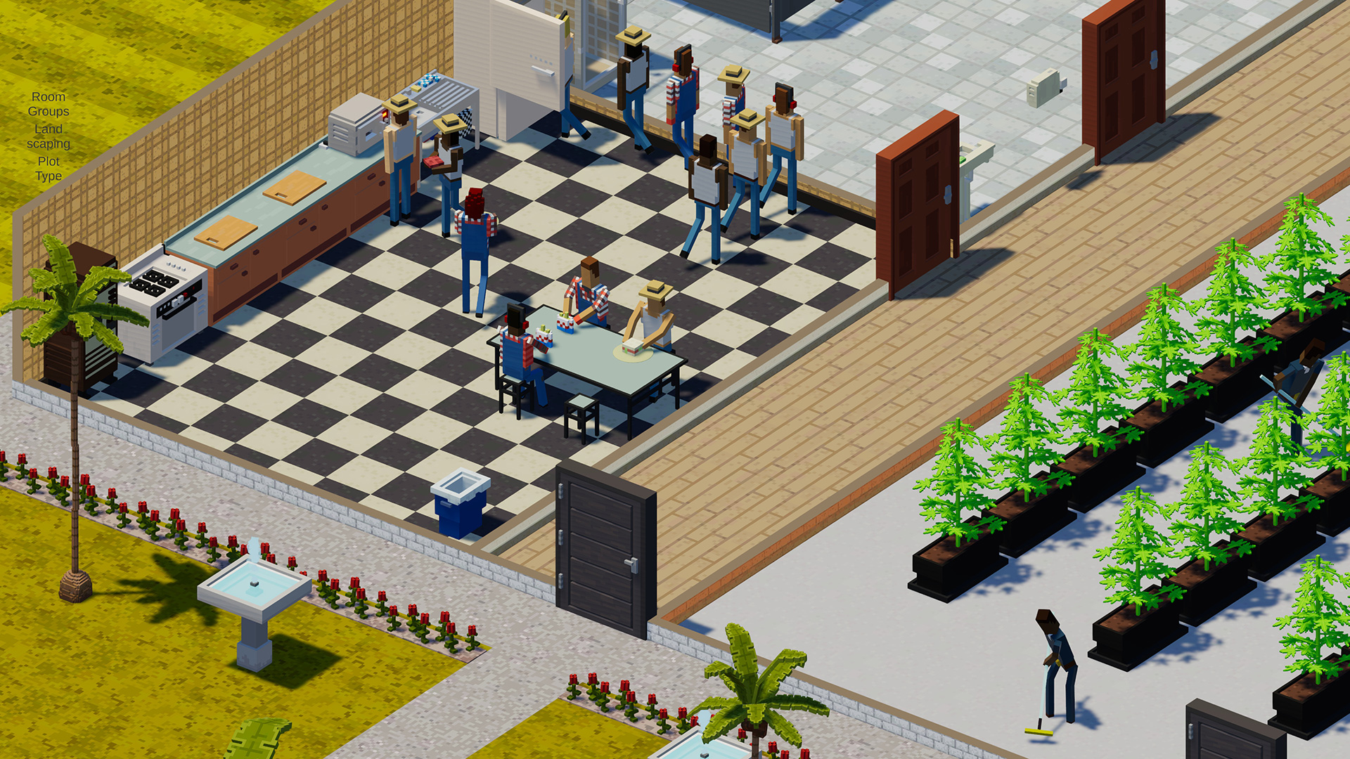 Definitely Not Fried Chicken is a PC sim game about running a drug empire screenshot