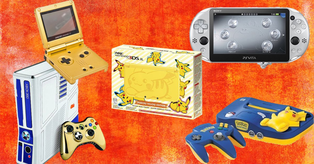 What limited edition console or handheld do you regret missing out on? screenshot