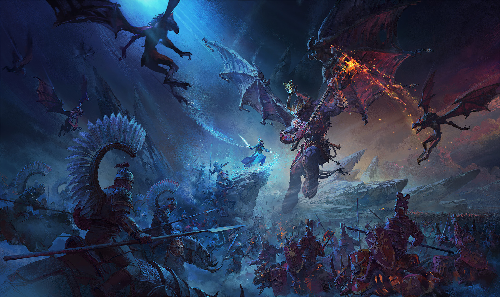 Total War: Warhammer III looks sick in its first cinematic trailer screenshot