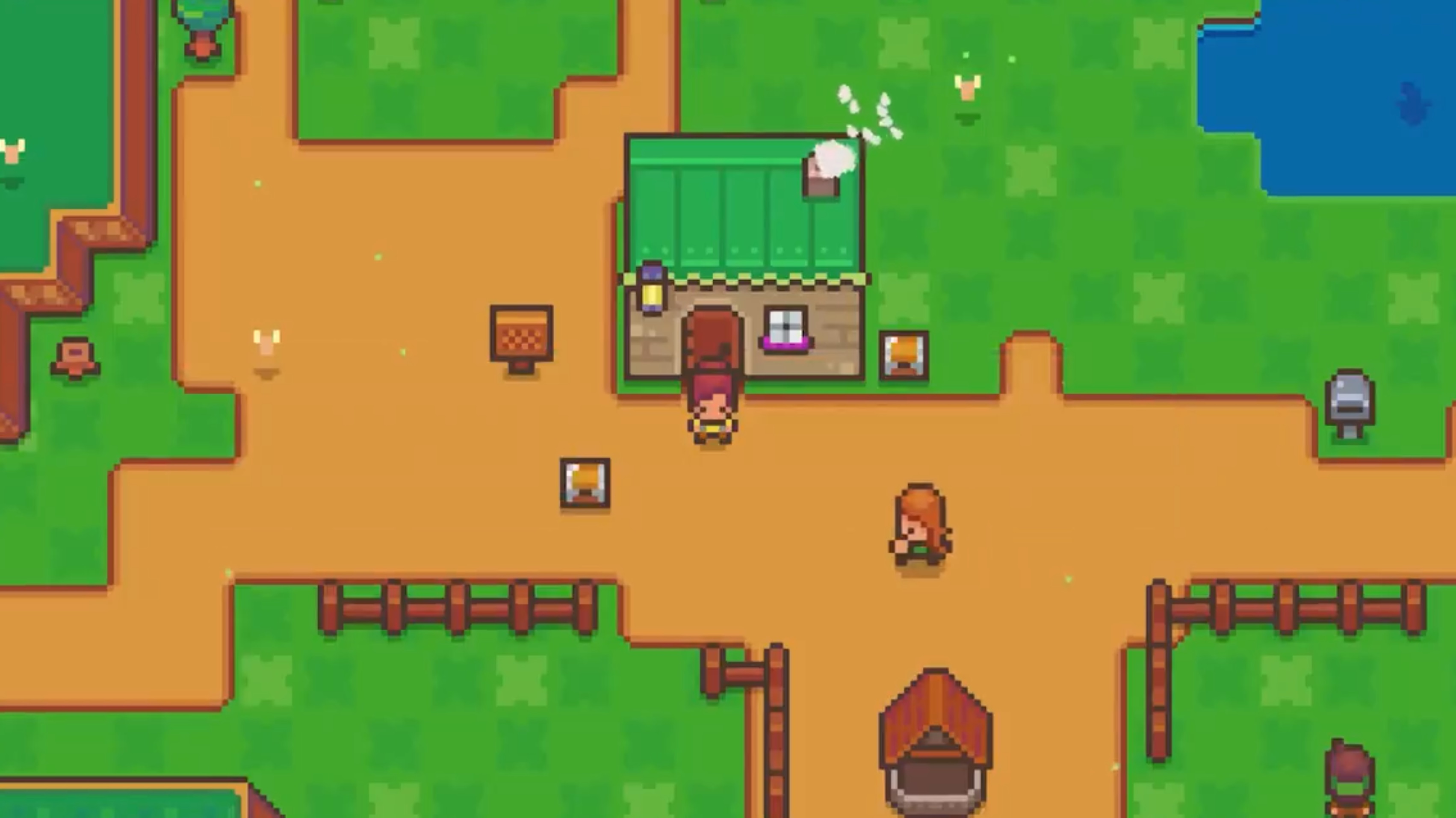 Littlewood for Switch, which looks a lot like Stardew Valley, takes place after you've already saved the world screenshot