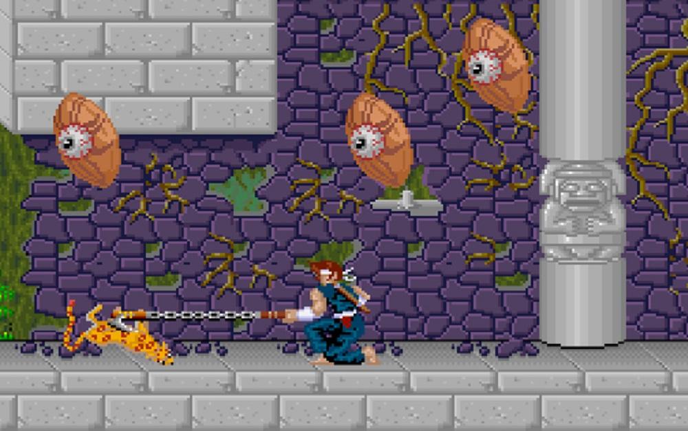 Jaleco's shinobi adventure Ninja Kazan returns on PS4 and Switch screenshot