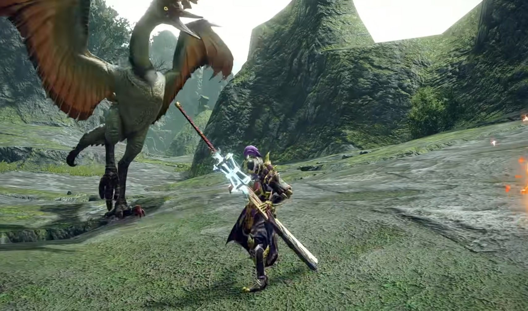 Monster Hunter Rise demo players favored the long sword, and it wasn't even close screenshot