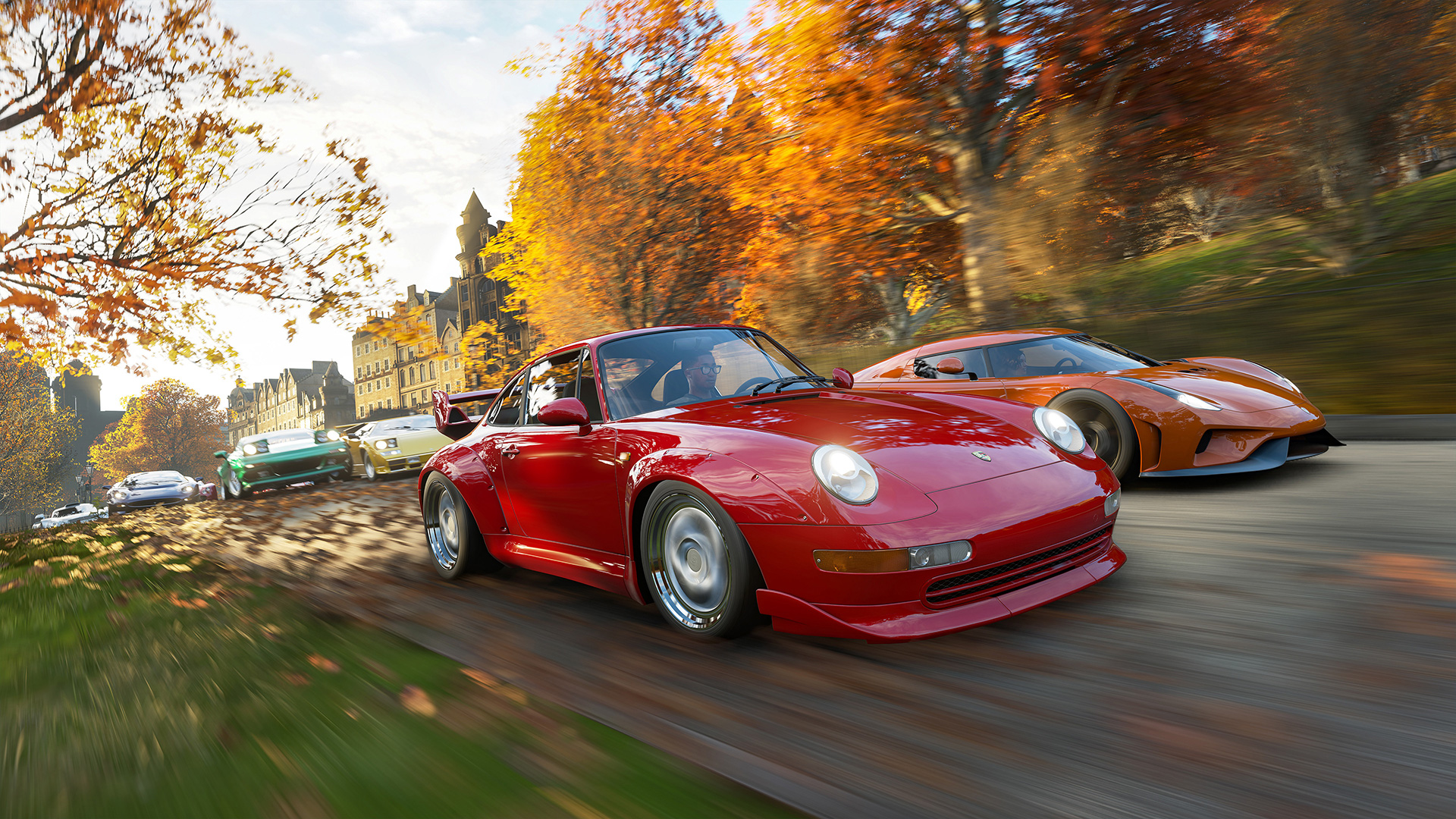 Forza Horizon 4 is on Steam and there's cross-play screenshot